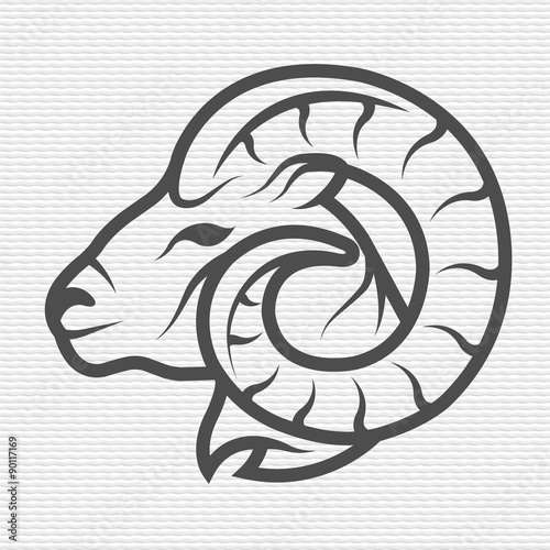 Fotografie, Obraz Ram symbol, logo, emblem.