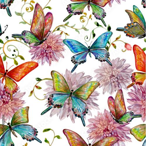 retro-bezszwowa-tekstura-z-latajacymi-motylami-akwarela-pa