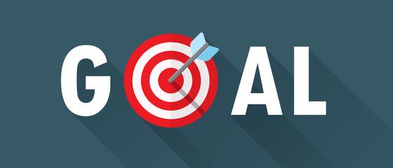 GOALS Text with Target Symbol