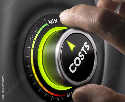 Fototapeta Cost Management