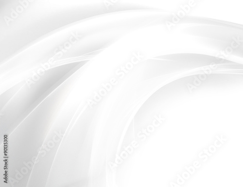 Poster Abstract wave white background