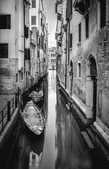 Plakat Black nad white Venice
