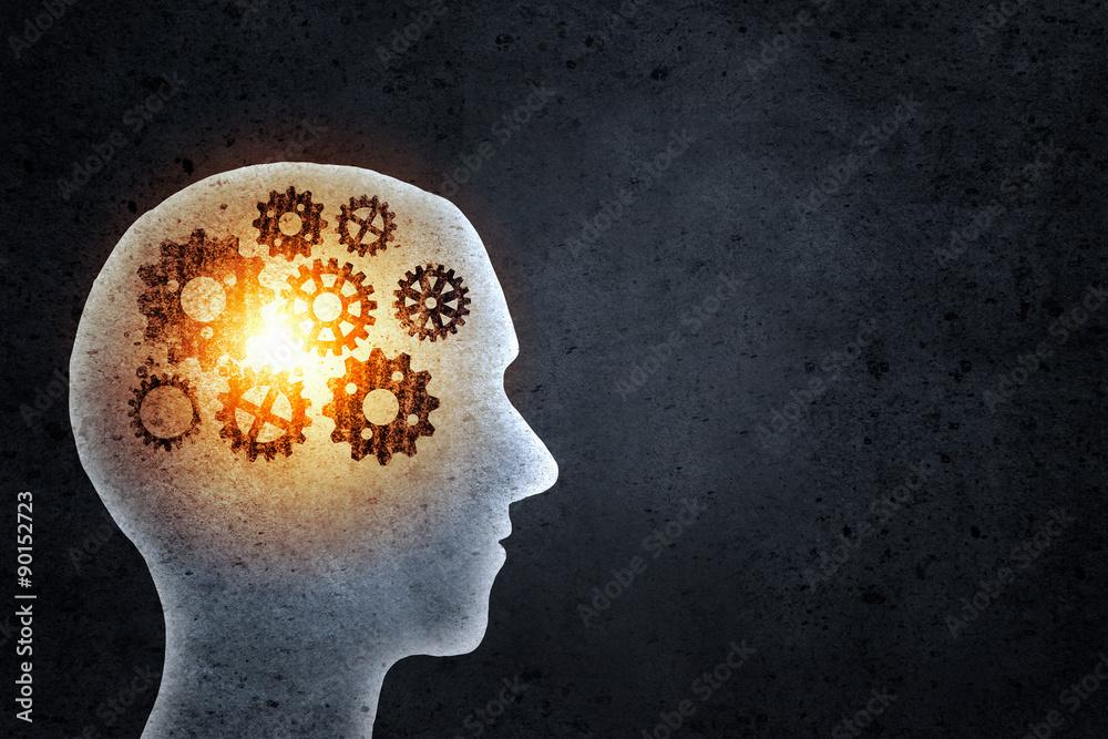 Fototapeta Thinking mechanisms