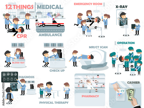 Beautiful Graphic Design Of Medical Elements 12 Things Medical