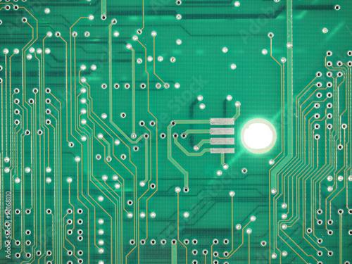 Fotografie, Obraz  Printed circuit