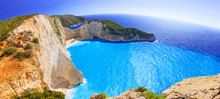 Panorama Of Navagio Beach (Shi...