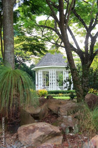 Photo  Bandstand in Singapore Botanic Gardens