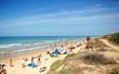 Playa de Costa Ballena, Rota, provincia de Cádiz, España