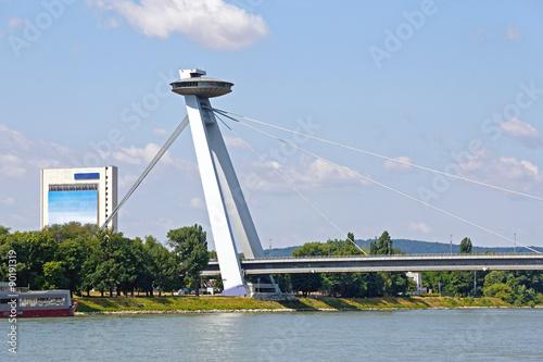 Photo  Bratislava Bridge