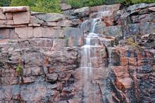 Cascading Waterfall In Acadia ...