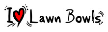 Lawn Bowls Love