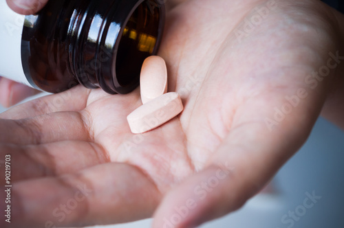 Valokuva  Medicine in hand