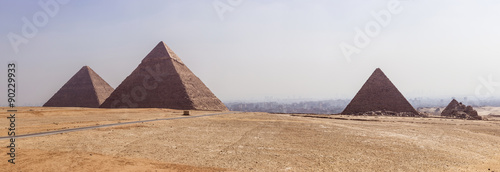 panoramic Giza #90229933