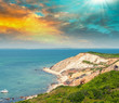 Wonderful landscape of Aquinnah Beach, Martha's Vineyard