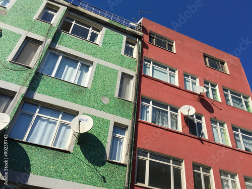 Photo  Buildings and homes of Istanbul, Turkey