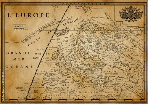 stara-europejska-mapa-na-starym-papierze