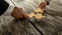 Business Partnership Or Teamwork