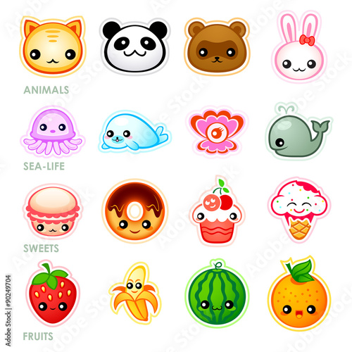 Photo  Kawaii stickers