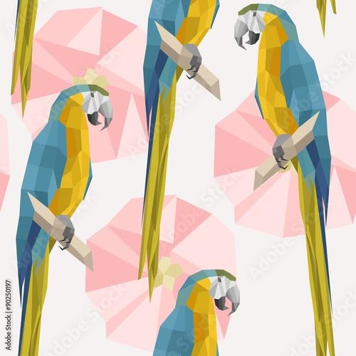 desen-w-papugi