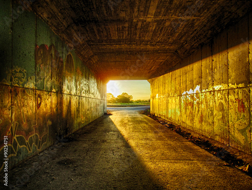 Papiers peints Tunnel Túnel de la autovía