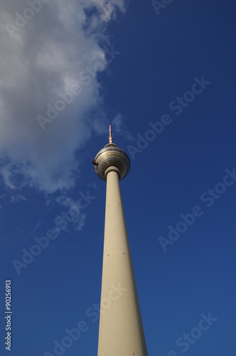 Telespargel in Berlin Poster