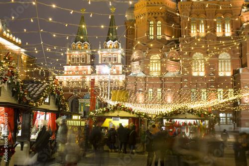 Ingelijste posters Beijing Christmas Moscow
