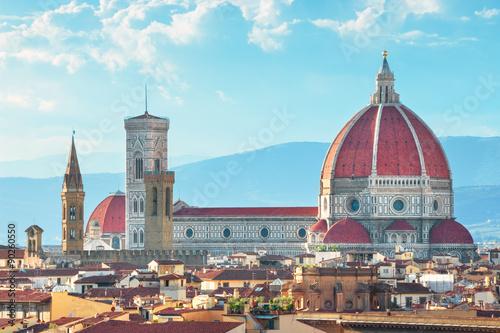 Fotografie, Obraz  Cathedral (Santa Maria del Fiore) in Florence, Italy.