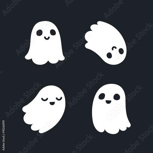 Cute ghosts фототапет