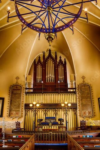 Obraz na plátně French Huguenot Church in Charleston, SC