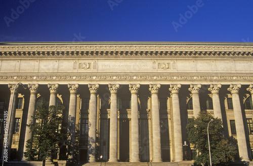 Fotografia, Obraz  State Education Building in Albany, NY