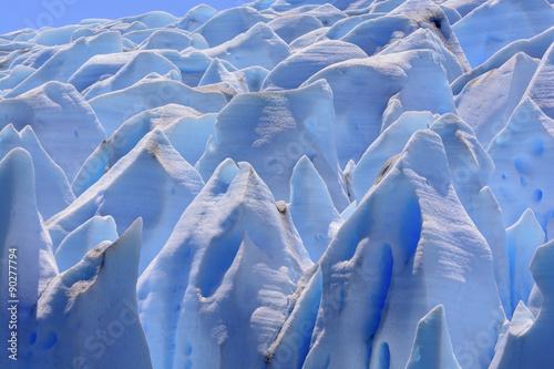 Fototapeta  Blue Ice Maze