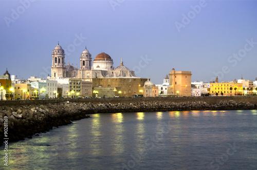Catedral de Cádiz. Andalucía. España
