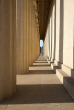 Columns Of The Parthenon, Nashville, Tennessee, Centennial Park, Full Scale Replica Of Greek Parthenon..