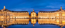 Place La Bourse In Bordeaux, T...