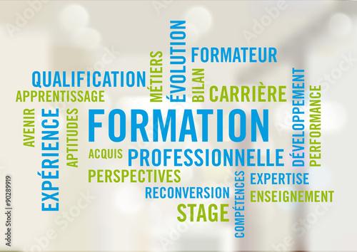 Fotografía  Formation Professionnelle - Nuage de mots