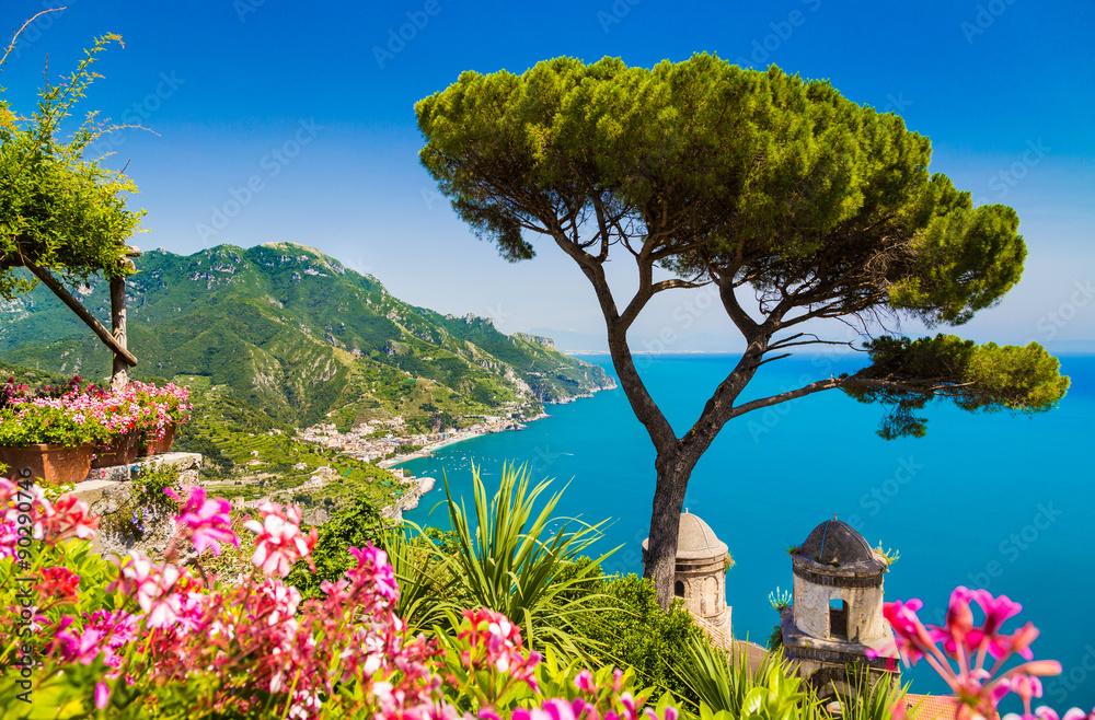 Wybrzeże Amalfi, Kampania, Włochy