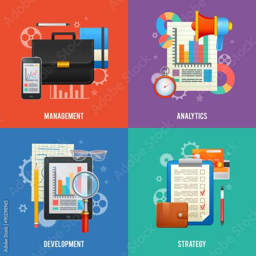 zestaw-plaski-ksztalt-koncepcji-dla-biznesu