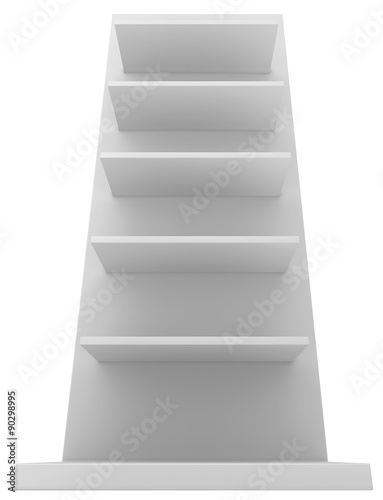 Exhibition Stand Shelves : Exhibition stand shelves isolated on white background buy this