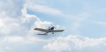 Ultraleichtflugzeug Beim Start