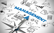 Arrow Pointing To Management C...