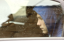 Sad Teenager Boy Worried Insid...