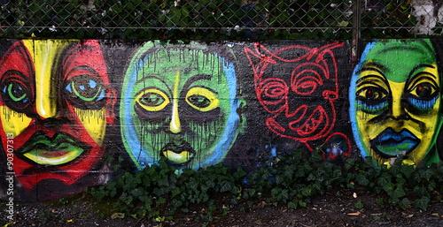 Valokuva  graffiti