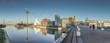 Panorama vom Medienhafen Düsseldorf