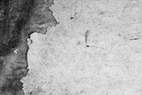 Texture background of the old wall, black and white. The peeling