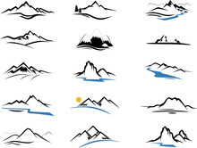 Mountains Icons