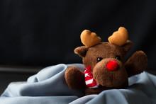 Toy Reindeer Christmas Present Child
