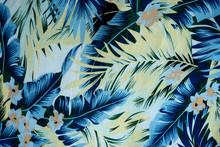 Texture Fabric Vintage Hawaiia...