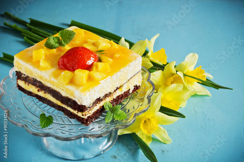 Wall Murals Narcissus celebratory cake