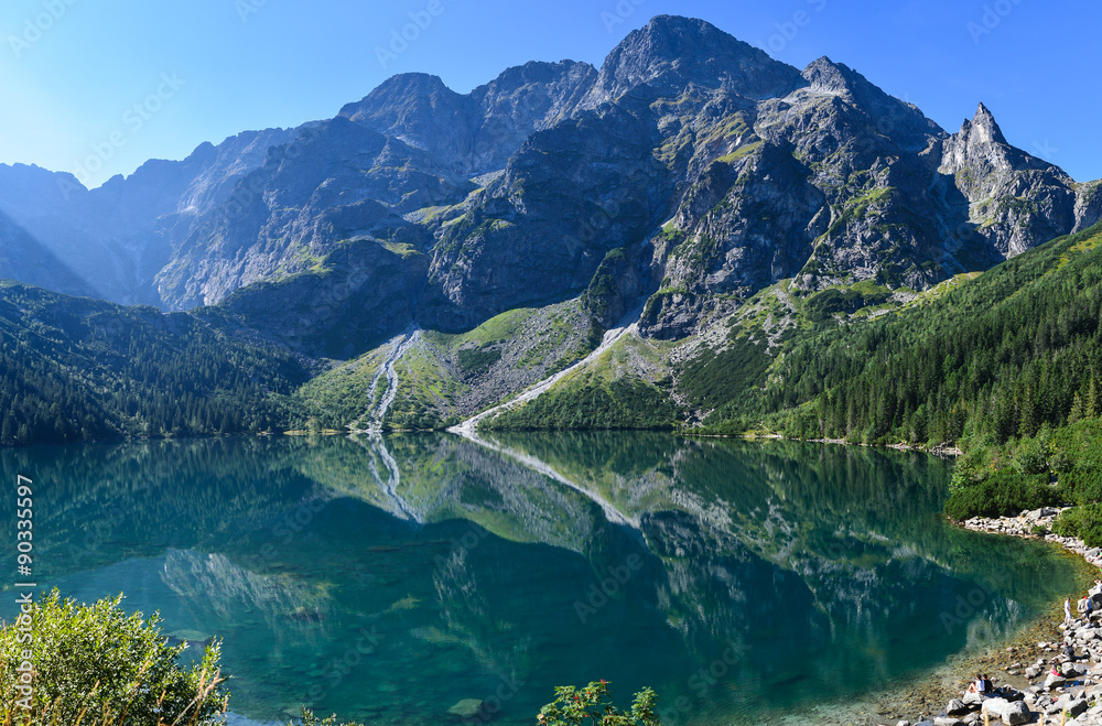 Morskie Oko - lake in Tatra Mountains