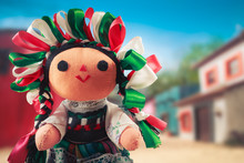 Mexican Rag Doll In A Traditio...